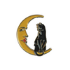 THE CAT AND THE MOON pin