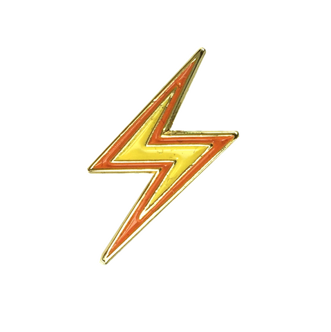 Emoji Lightning Bolt Pin
