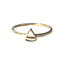WIRE RING THE TRIANGLE