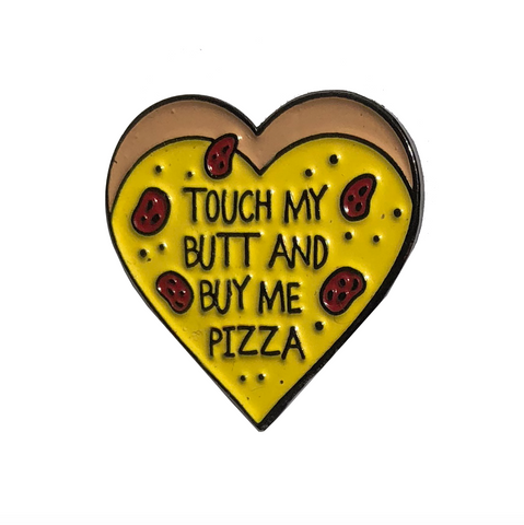 Buy me pizza pin