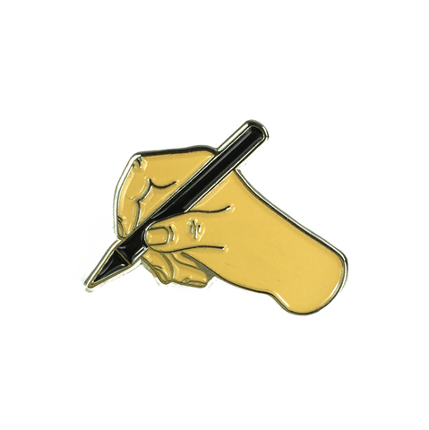 Emoji Writer's Pen Pin