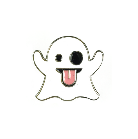 Emoji Ghost Pin