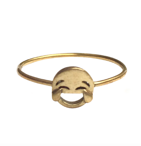 VMOJI CRYING EYES FACE RING