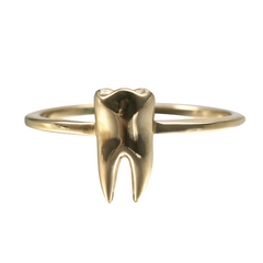 TINY BABY TOOTH RING