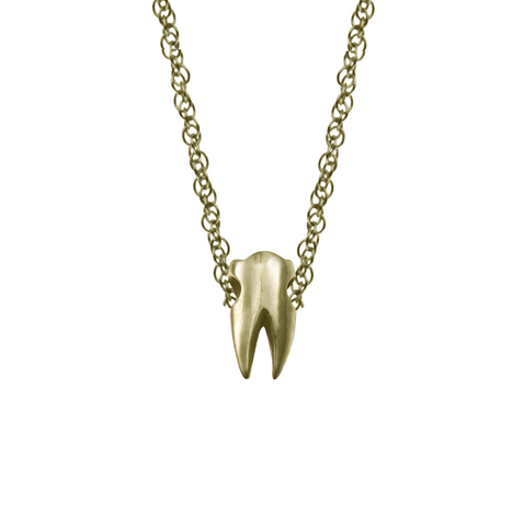 TINY BABY TOOTH NECKLACE