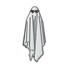PIN LOVELY GHOST