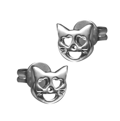 VMOJI CAT WITH LOVELY EYES EARRING