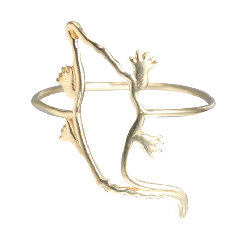 WHISPER OF SHINE ALLIGATOR RING