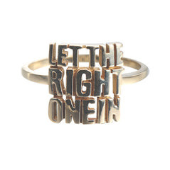 Word Ring let the right one in
