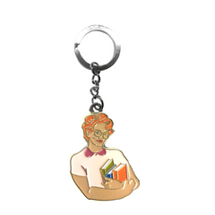 KEYCHAIN STRANGER THINGS BARB
