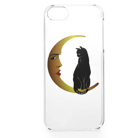 iPhone case Cat on the Moon