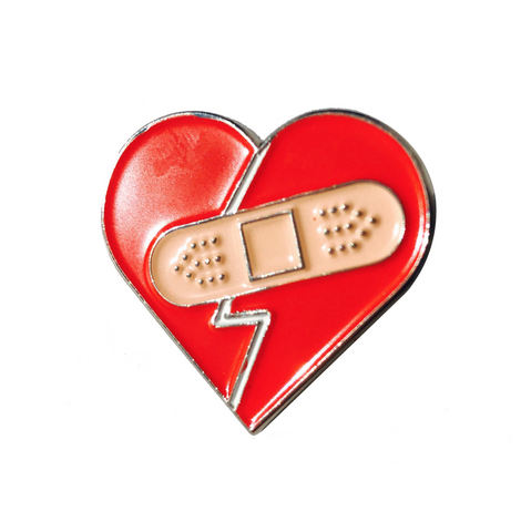 PIN FIXED HEART