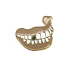 GOLDEN TOOTH pin