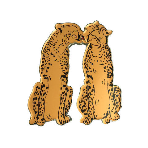 CHEETAH KISS pin