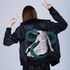 SNAKE LADY BOMBER JACKET