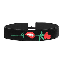 Passion Bite Silk Choker