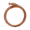 Diamondback Snake Ring