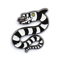 SANDWORM Beetlejuice pin