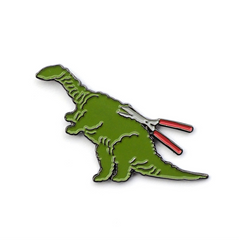 DINOSAUR BUSH pin