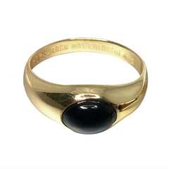 Always Black ring