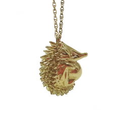 Porcupine necklace