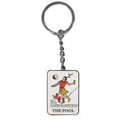 THE FOOL TAROT KEYCHAIN