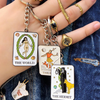 THE HERMIT TAROT KEYCHAIN