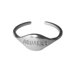 ZODIAC RING AQUARIUS