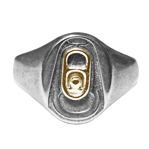 BEER ME signet ring