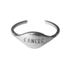 ZODIAC RING CANCER