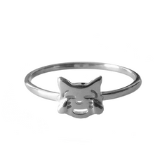 VMOJI LAUGHING CAT RING