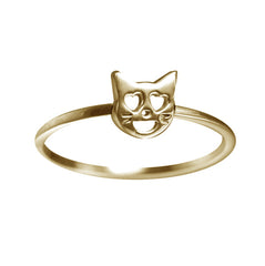 VMOJI CAT WITH HEART EYES RING