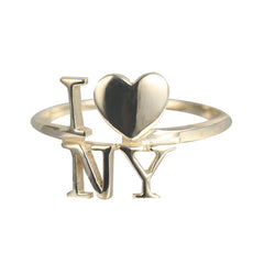 Word Ring I heart NY