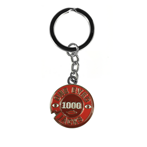 KEYCHAIN ONE EYED JACKS