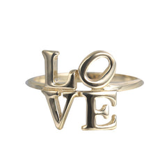 Word Ring LOVE