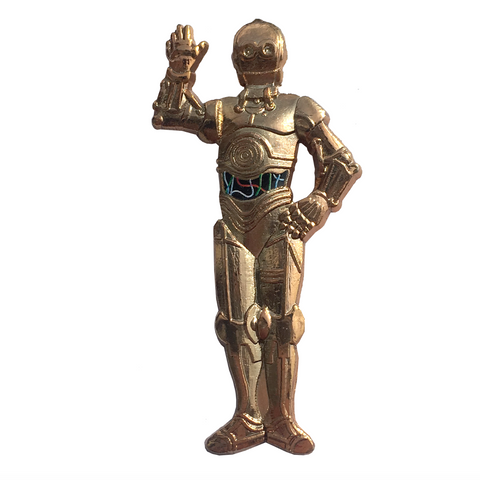 Star Wars C3PO pin