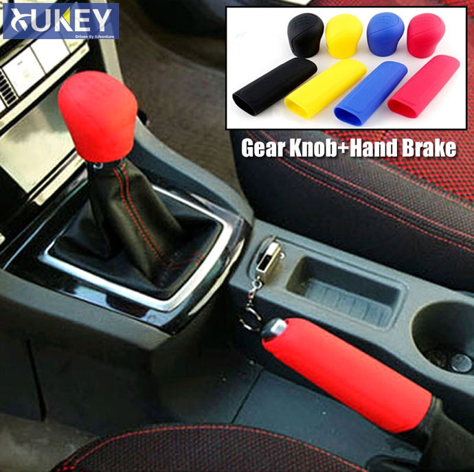 Silicone Gear Knob and Hand Brake Cover
