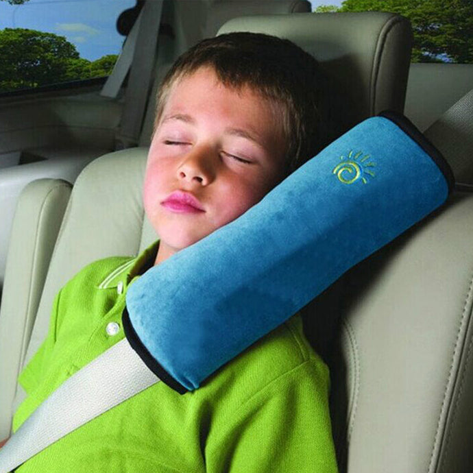 Kids Car Safety Seat Belt Plush Cover