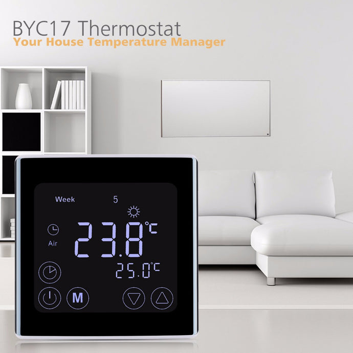 Smart LCD Touch Screen Room Thermostat