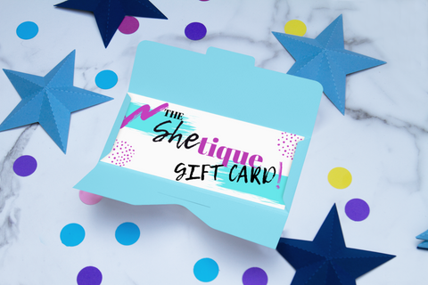 The Shetique Gift Card