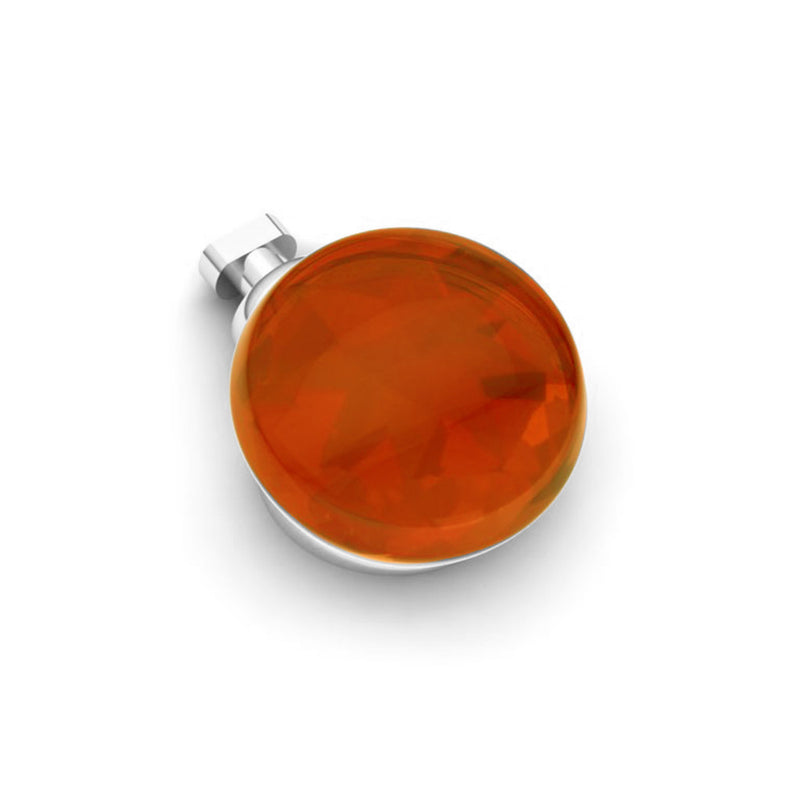 Duo Interchangeable Cabochon Stone Charm