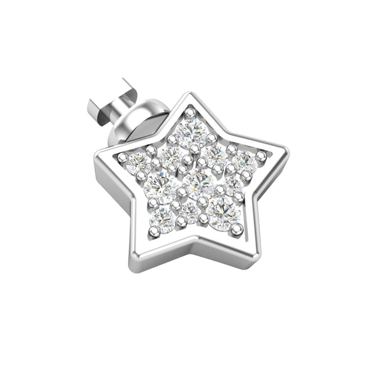 DUO BY BIANCA STARS SYMBOLS PAVE'  - STAR/STELLA - WSDO00012