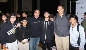 Five Cisco executives extend a hand to Cristo Rey San José students