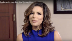 Eva Longoria addresses Pence's