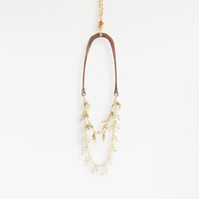 Load image into Gallery viewer, Haley Gemstone Necklace in Rose Gold