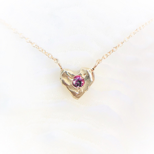 Healed Heart - Pink Sapphire