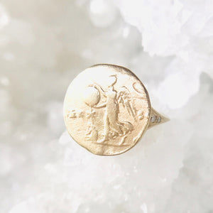 The Woman / Virgo Artifact Ring