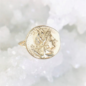 Goddess of Self Value Artifact Ring