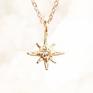 Tiny Gratitude Star Necklace