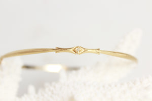 Goddess Diamond Bangle